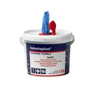 desinfectie DETECTAPLAST cleaning towels 150v HACCP
