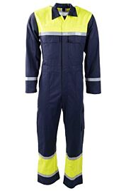 D-FORCE burela overall navy/fluo yellow