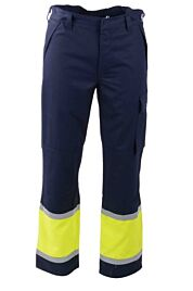 D-FORCE borla broek navy/fluo yellow