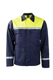 D-FORCE balsta blouson navy/fluo yellow