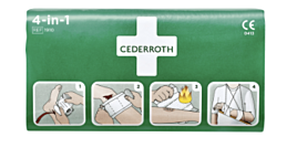 First aid 4 All 4-1 bloedstelpend verband